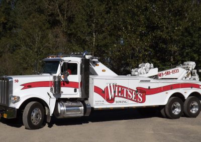 Wiltse's Towing 2012 Peterbilt 388 with a JerrDan Heavy Duty Wrecker Unit TK # 50